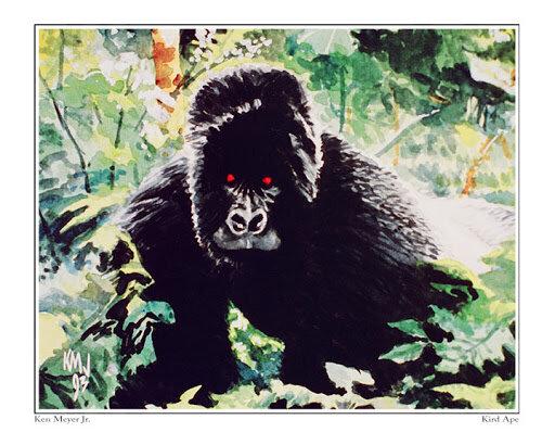 Kird Ape - illustrated by Ken Meyer Jr.