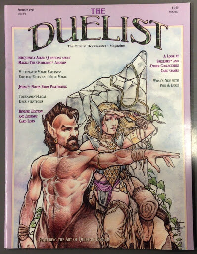 Summer 1994 edition of The Duelist Magazine