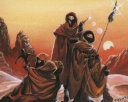 Desert Nomads - illustrated by Christopher Rush