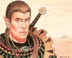 Marhault Elsdragon - illustrated by Mark Poole