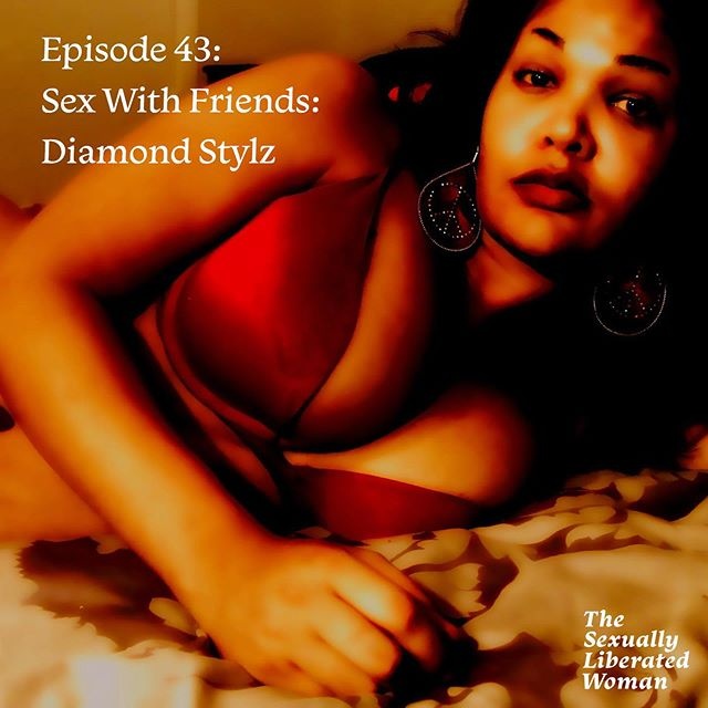 """Episode 43 is live! In this one, @evyan.whitney brings back her series, Sex with Friends—which are special conversations that feature the sexual origin stories of some of her favorite people. And to get the series kicked off again, she has @diamondstylz walk down memory lane through her childhood and share some of the funny and life-changing moments that shaped how she came to explore her own sexuality.  Diamond also shares what it looked like for her coming into her womanhood in a traditional household, what she thought sex was as a child, and what her sex life looks now as she's let go of the idea of the """"perfect woman"""" and reclaims her pleasure.  Diamond is an engaging and hilarious storyteller with an honest approach when talking about her sexual liberation journey, and she takes that energy with her throughout this episode and also in her own podcast, @marshasplate, which discusses the Black trans experience.  Listen to episode 43 of the #sexuallyliberatedwoman on Apple Podcasts, Spotify, Soundcloud, and Stitcher—just search 'The Sexually Liberated Woman'. Unable to listen? We've got a transcript for you over at sexuallyliberatedwoman.com  #podin #podcastsofcolor"""