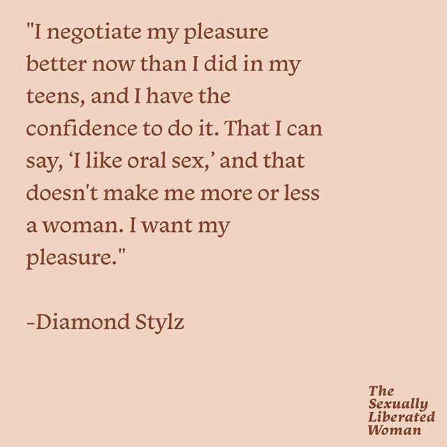 We were given so much permission to claim our pleasure after listening to this recent episode with @diamondstylz on the #sexuallyliberatedwoman. To know that there are women out there who are fiercely and unapologetically demanding their orgasm, and are not afraid to challenge social and gender norms in the process is the medicine we need.  What things did you takeaway from episode 43?  And don't forget to check out Diamond's stellar podcast, @marshasplate.  #podin #podincolor #sexualliberation #sexualeducation #transisbeautiful