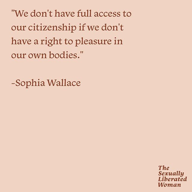 THIS. 👏🏾 Listening to @sophiawallaceartist speak about clits and pleasure on ep. 44 was healing for us in so many ways. What things are you actively doing to become cliterate?