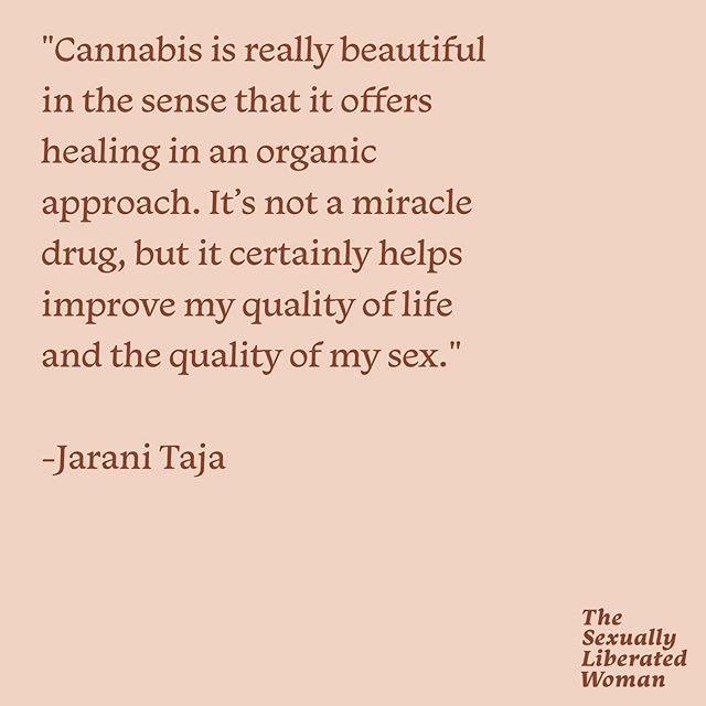 We're all still buzzing (pun not intended!) from episode 45 of the #sexuallyliberatedwoman about sex and cannabis. @climbthesea has such a wealth of knowledge about this plant and it changed our perspective on how to use it intentionally.  Have you ever used weed or cannabis-infused products in your sex life? Tell us how it was for you!