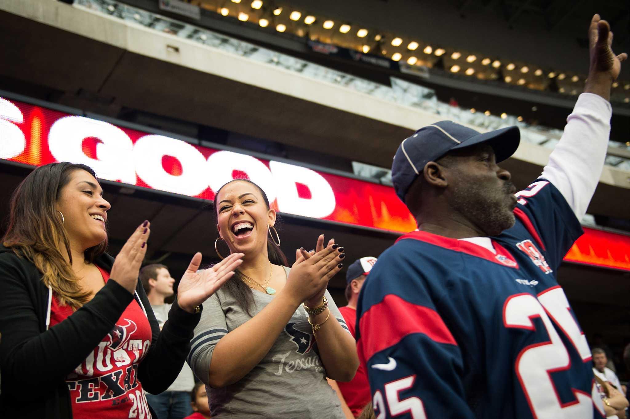 Devi + Friend, Brianne Pinns enjoying Texans Game