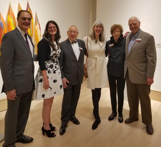 Jim Schantz, Jennifer Jankauskas. Lino, Kim Saul, Charles and Winnie Stakely.