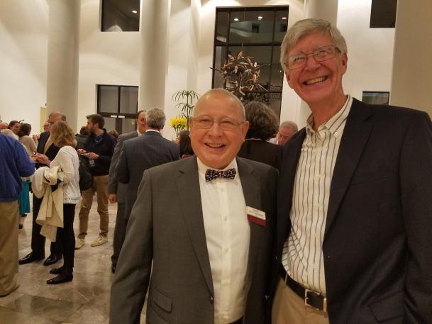 Lino with Ed Bridges.