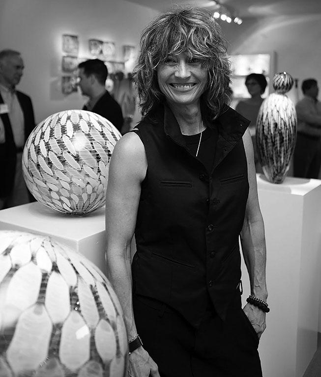 Nancy Callan at Schantz Galleries. Lisa Vollmer photo