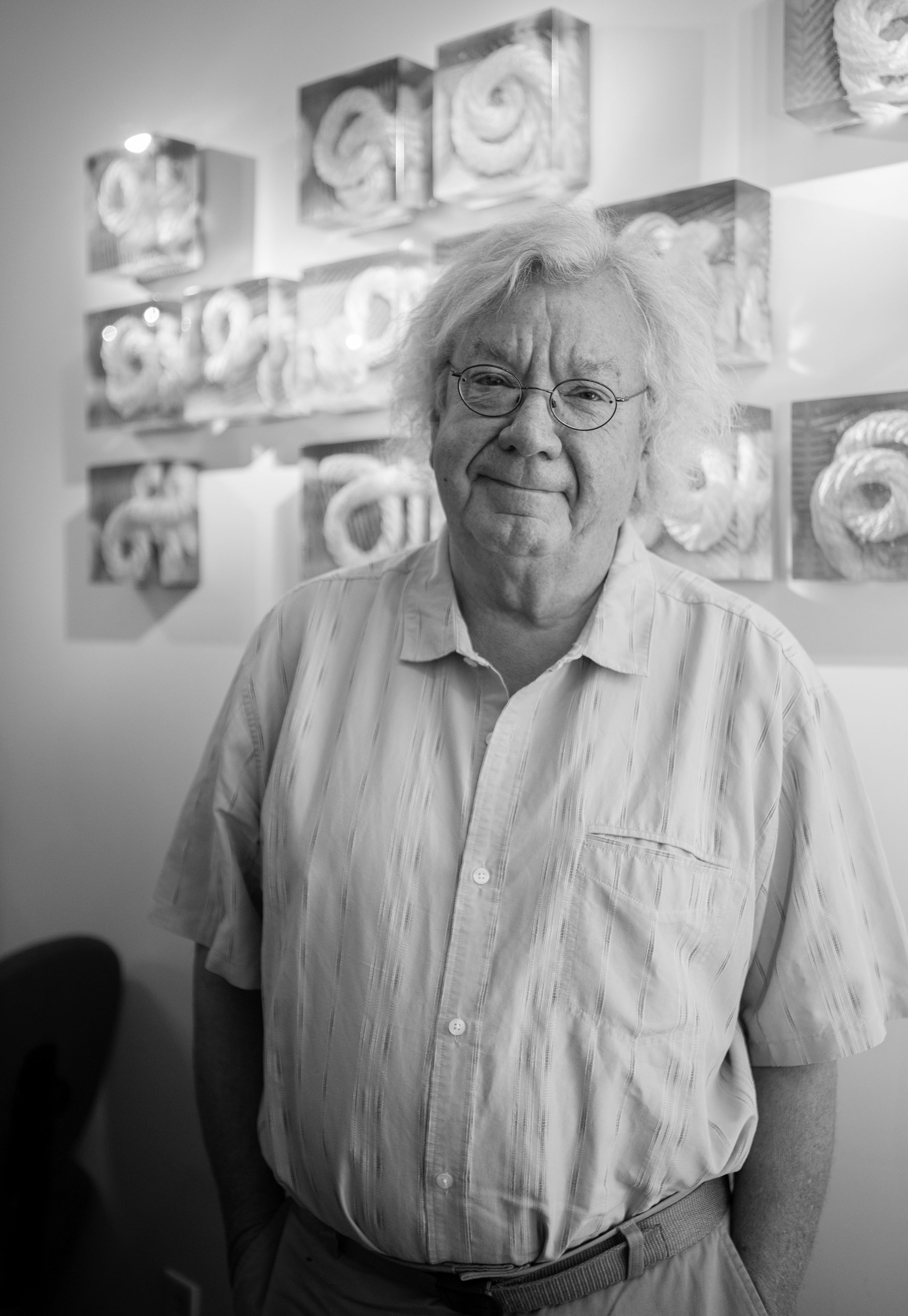 Bill Carlson at Schantz Galleries. Lisa Vollmer photo