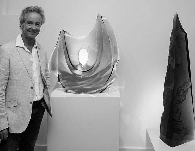 Peter Bremers at Schantz Galleries. photo: Lisa Vollmer