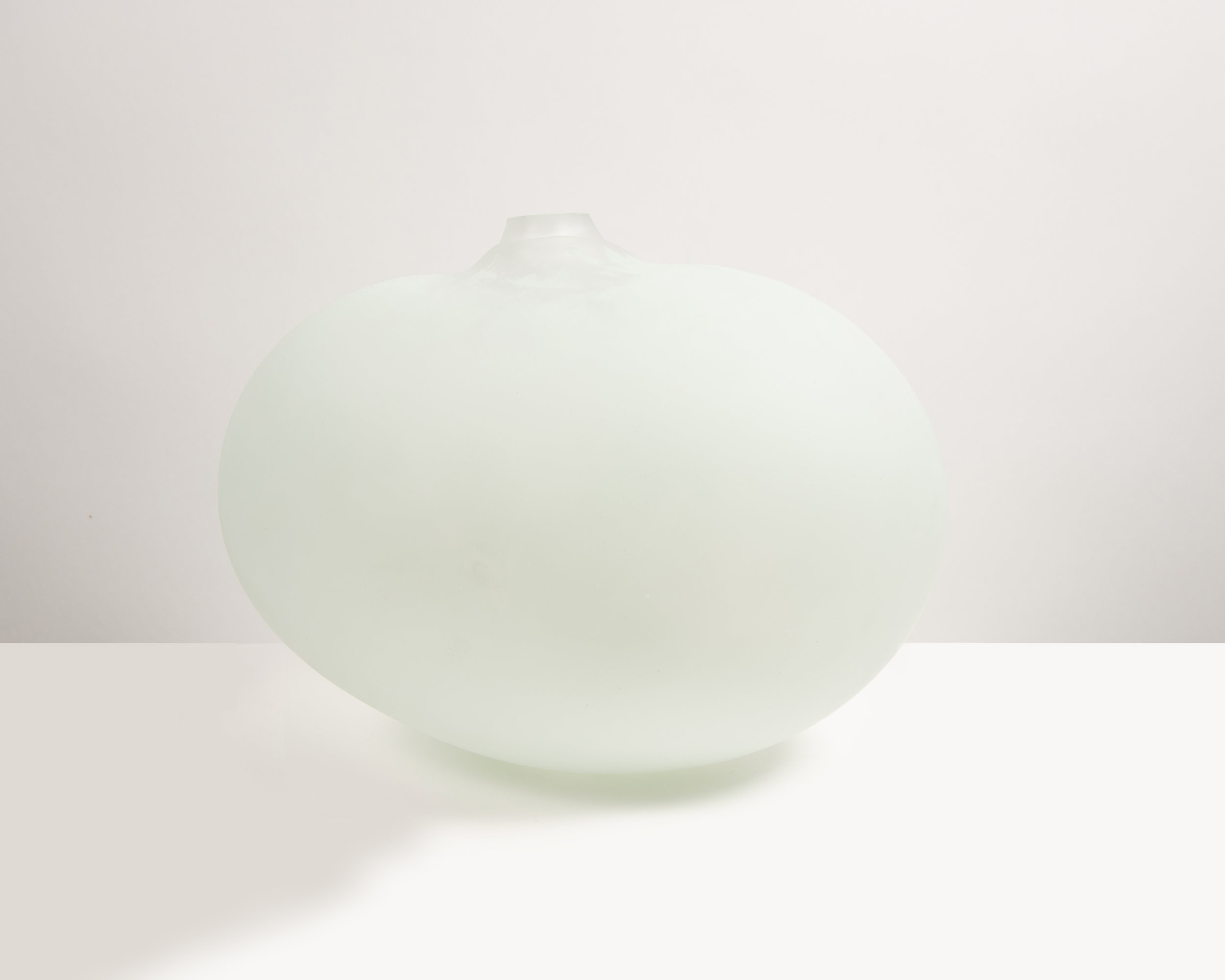 Super Egg , 2019, Blown glass, 20 x 14.25 x 14.25""