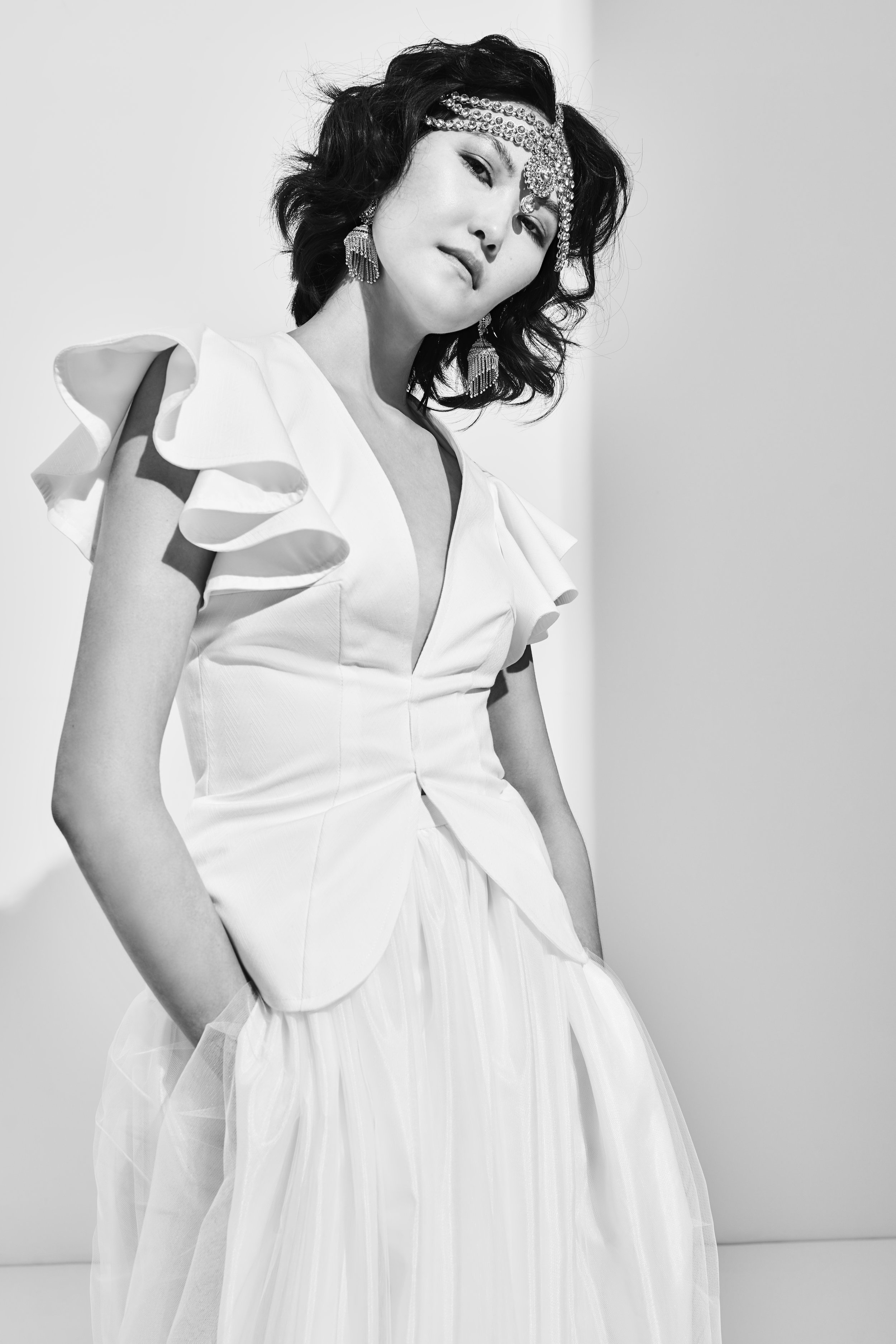 Photographer: Tim van der Most Hair&Make-up: Wout Philippo Model: Mendsaikhan Mendee Stylist accessories: Debby Koijen