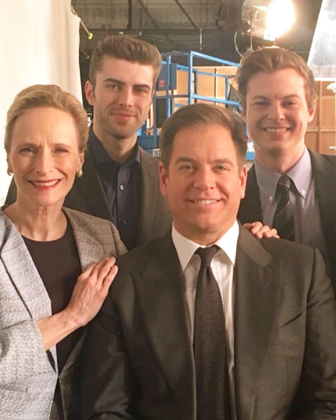 Behind The Scenes with the stars of BULL with Michael Weatherly Courtesy of CBS