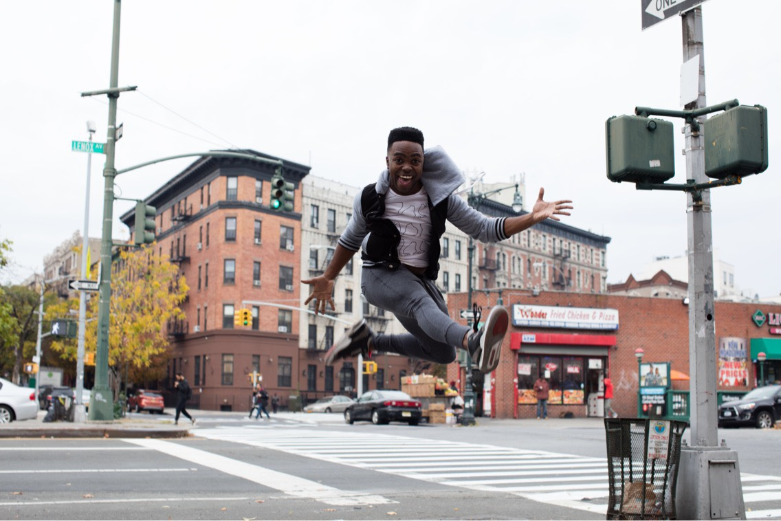 Jason Williams in Harlem, NYC in December 2016 |  Courtesy of Ashley Chui Photography