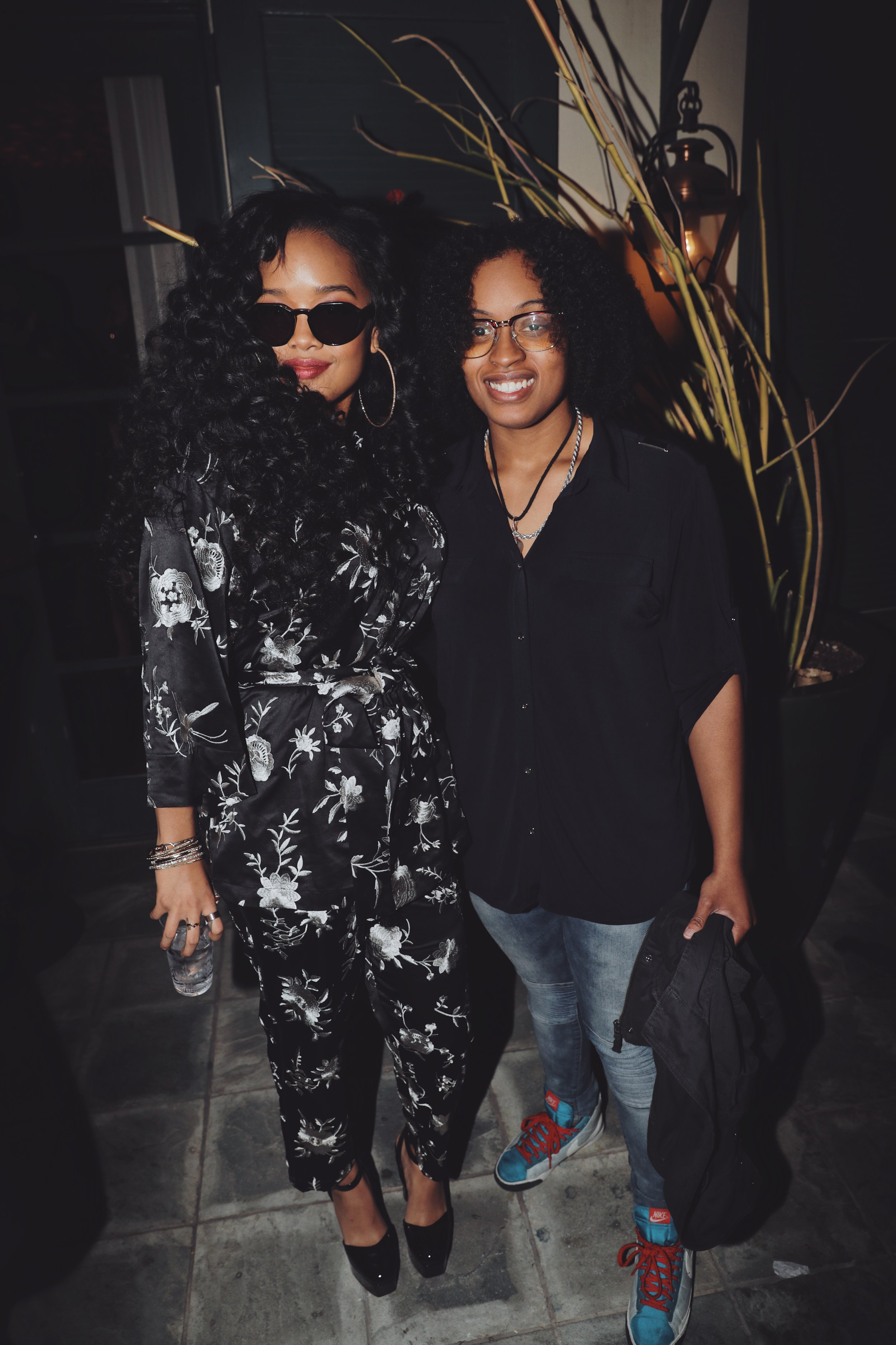 H.E.R. and Ayanna Depas in Los Angeles |  Courtesy of Shane Robinson