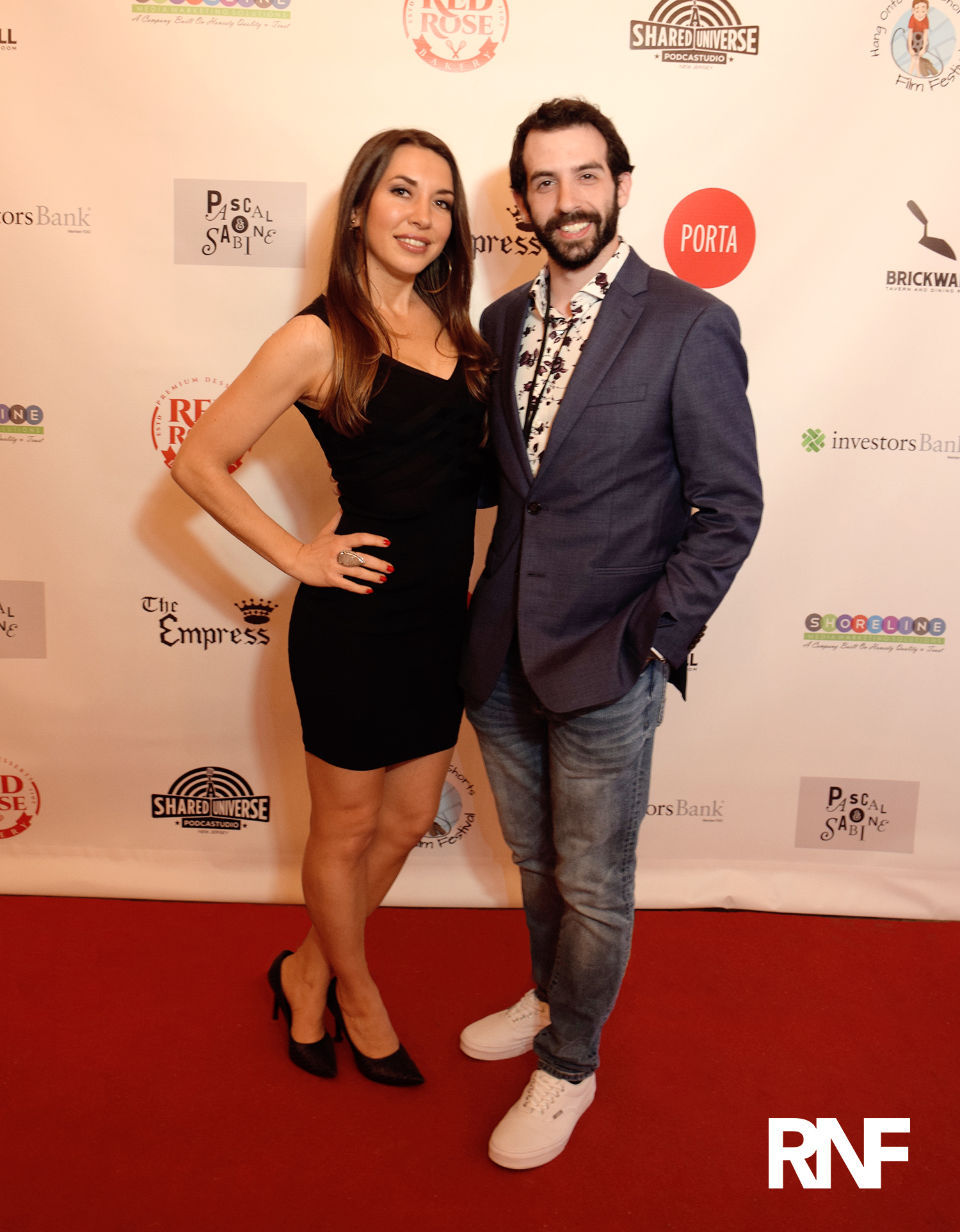 Kim Paris and Sean A. Kaufman on the red carpet at 'Hang Onto Your Shorts' Film Festival May 5, 2019 |  Courtesy of RNF