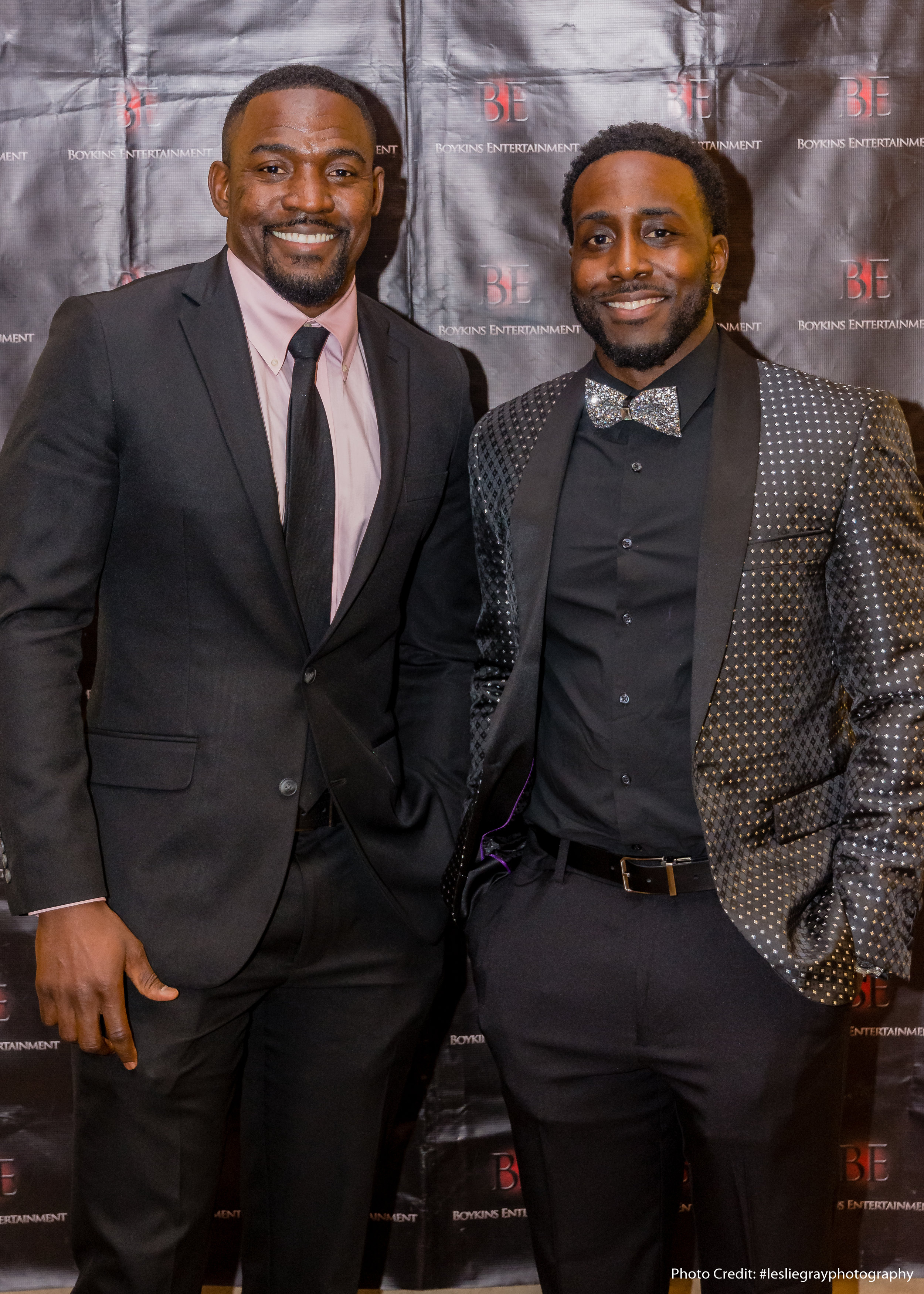 Rod Harper and Troy Williams at the red carpet premiere of The Watchman's Edict | Courtesy of Leslie Gray Photography