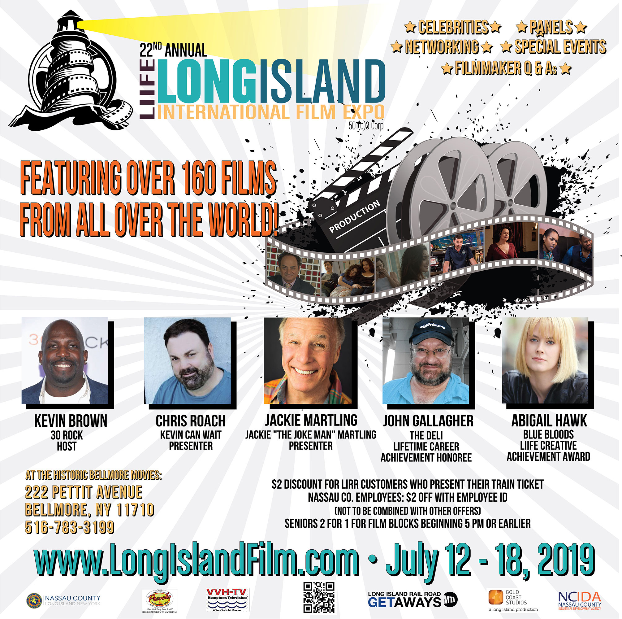 Kevin Brown hosts this summers Long Island International Film Expo |  Image Courtesy of LIIFE