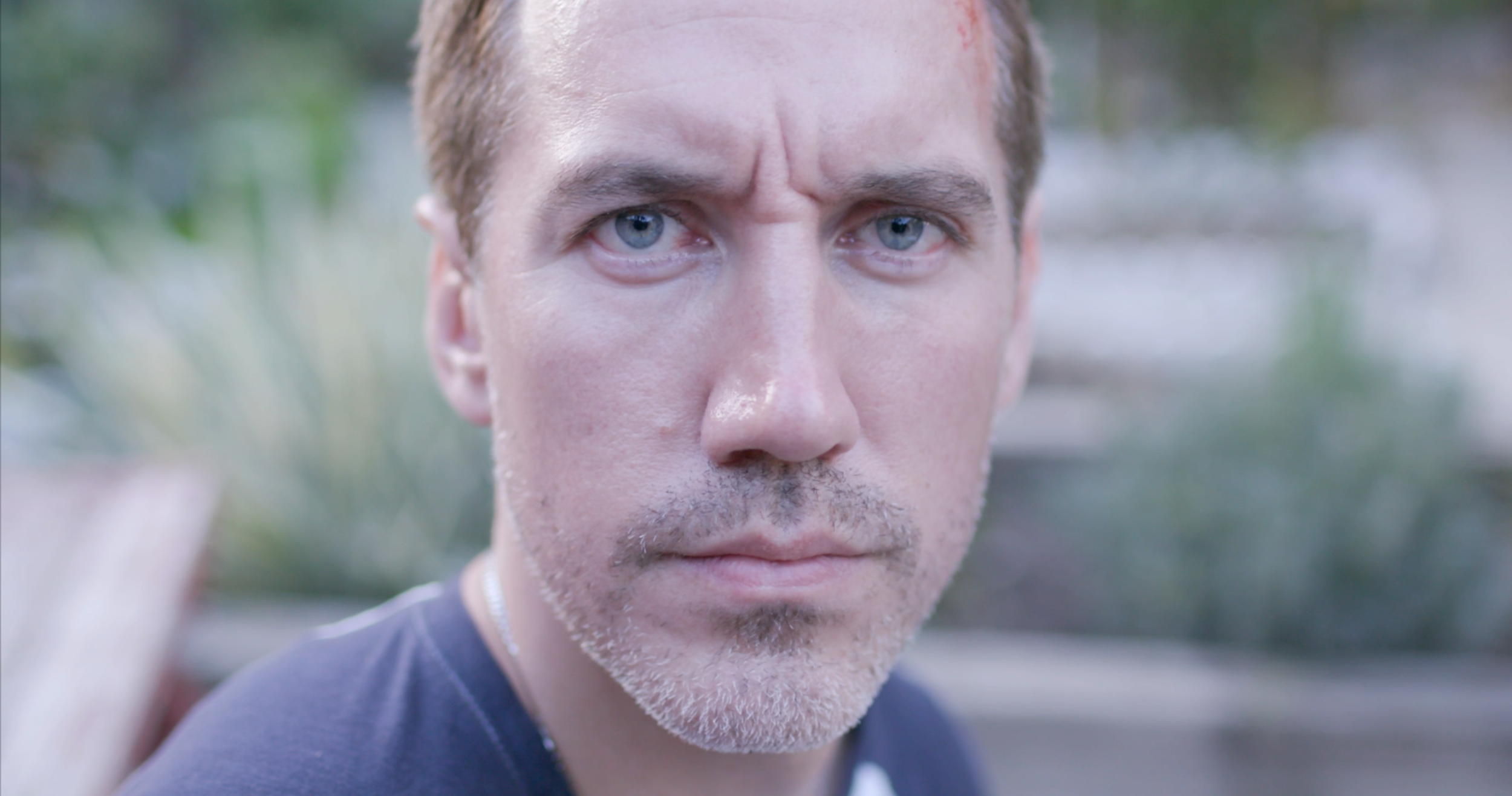 Matthew Sauvé as Grant in Forgotten Corpses: The Confinement |  Courtesy of AZURE PRODUCTION