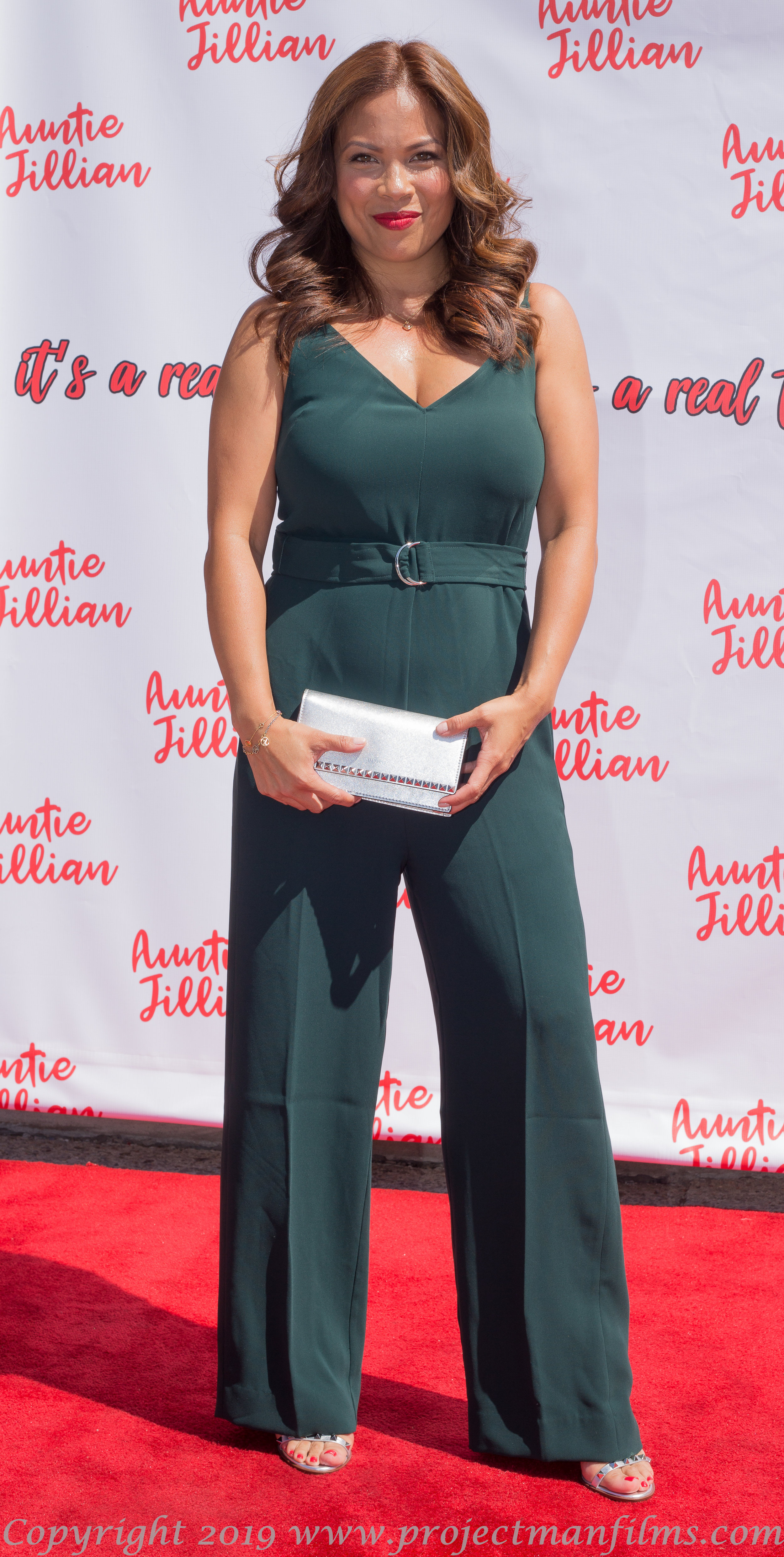 Celestine Caravaggio attends the red carpet event for Ask Auntie Jillian Season 2 premiere |  Courtesy of HNDRSNmarshall Photography
