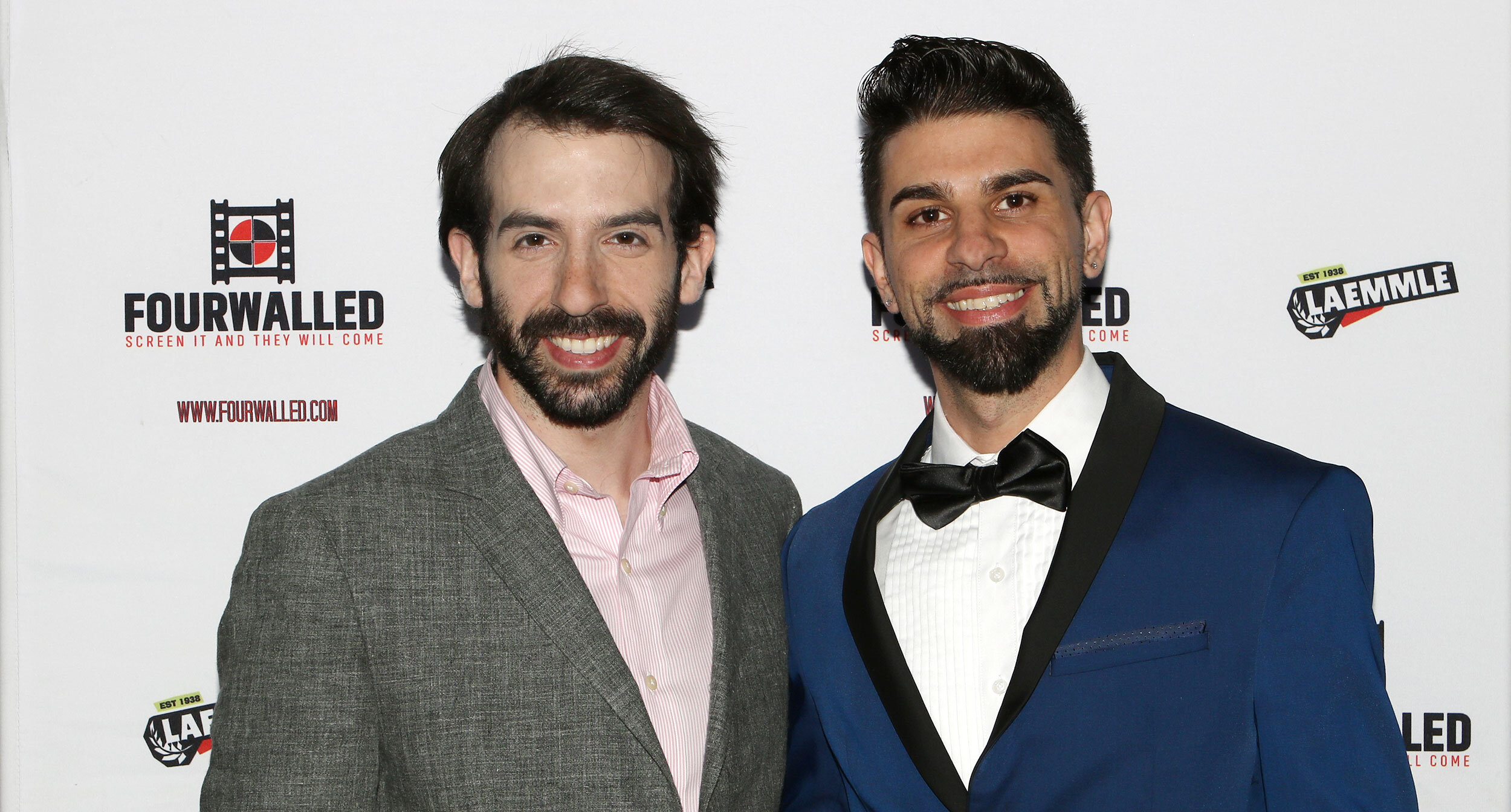Sean A. Kaufman and Chase Michael Pallante at Laemmle NoHo7 Theater in Los Angeles, California on June 21, 2019    Courtesy of NIE