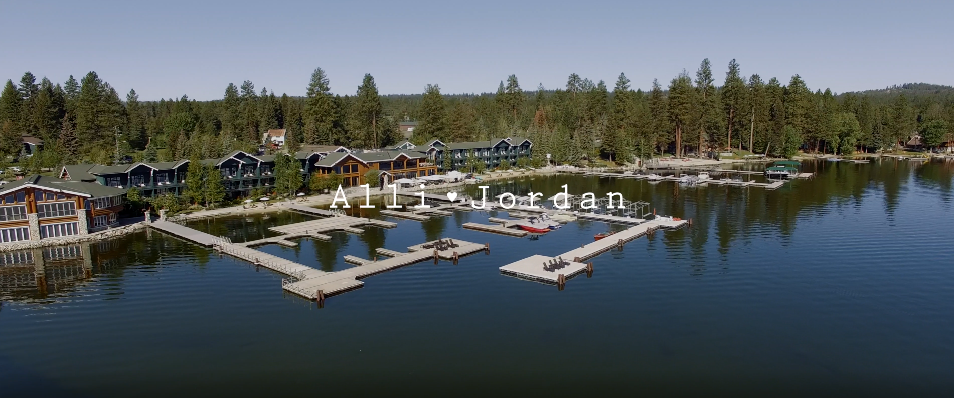 The beautiful clear skies, crisp mountain air and gorgeous lake views were some of the amazing highlights of shooting at Shoreline Lodge. For us wedding videographer's having a venue like this made it easy to create nothing short of a breathtaking film.