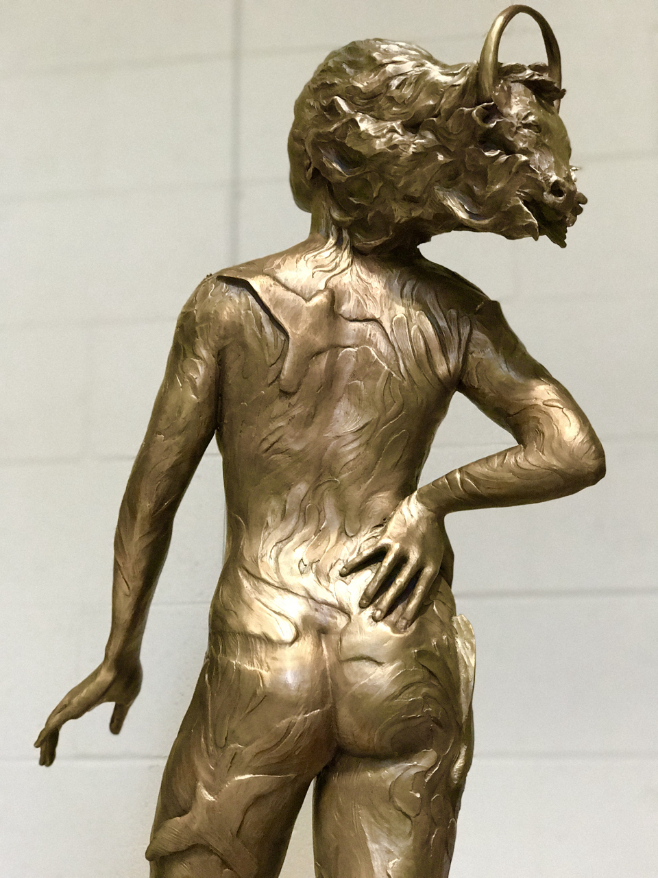 """The Guardian"" Bronze (more views)"