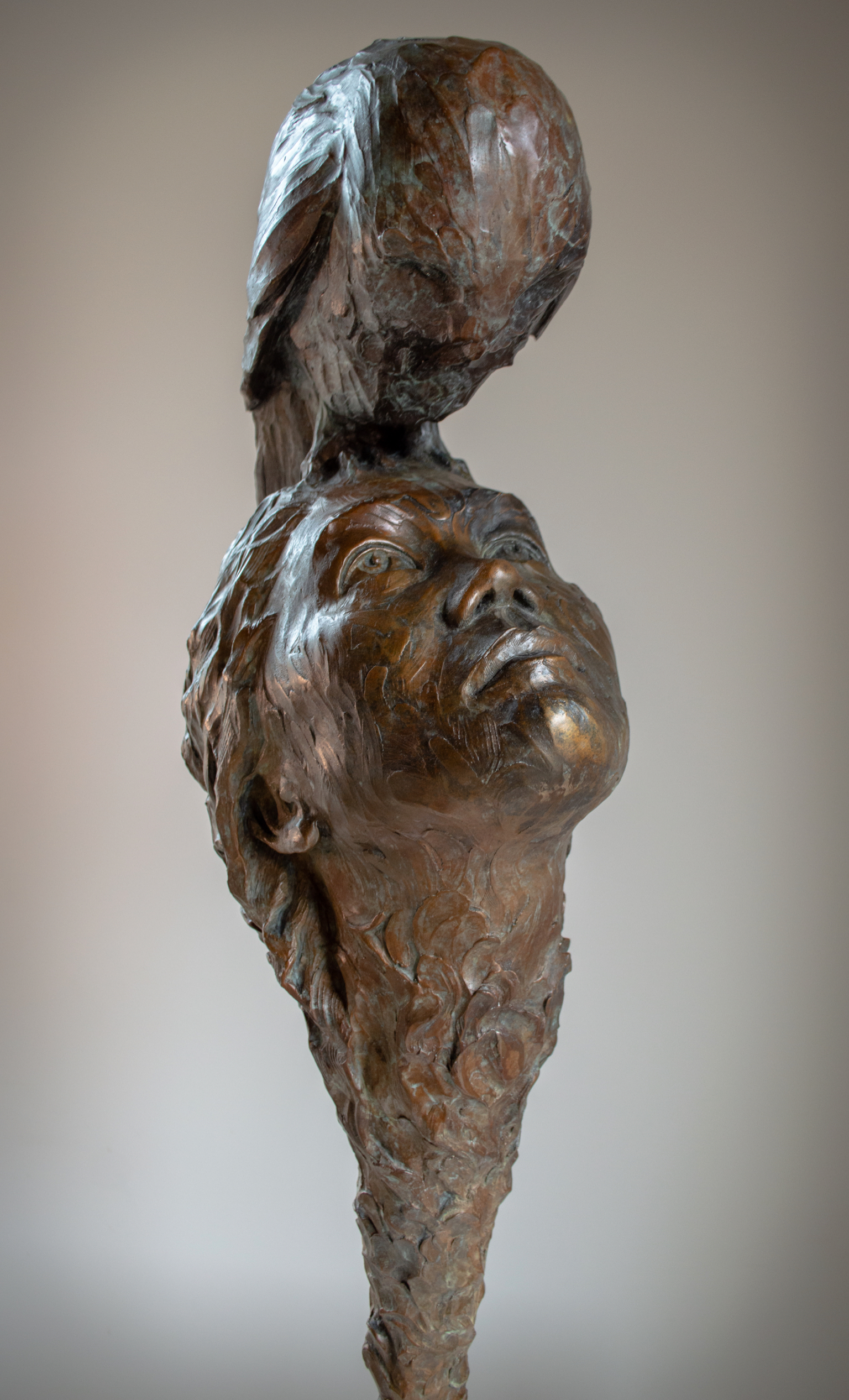 """Wisdom Beyond Mind"" Bronze"