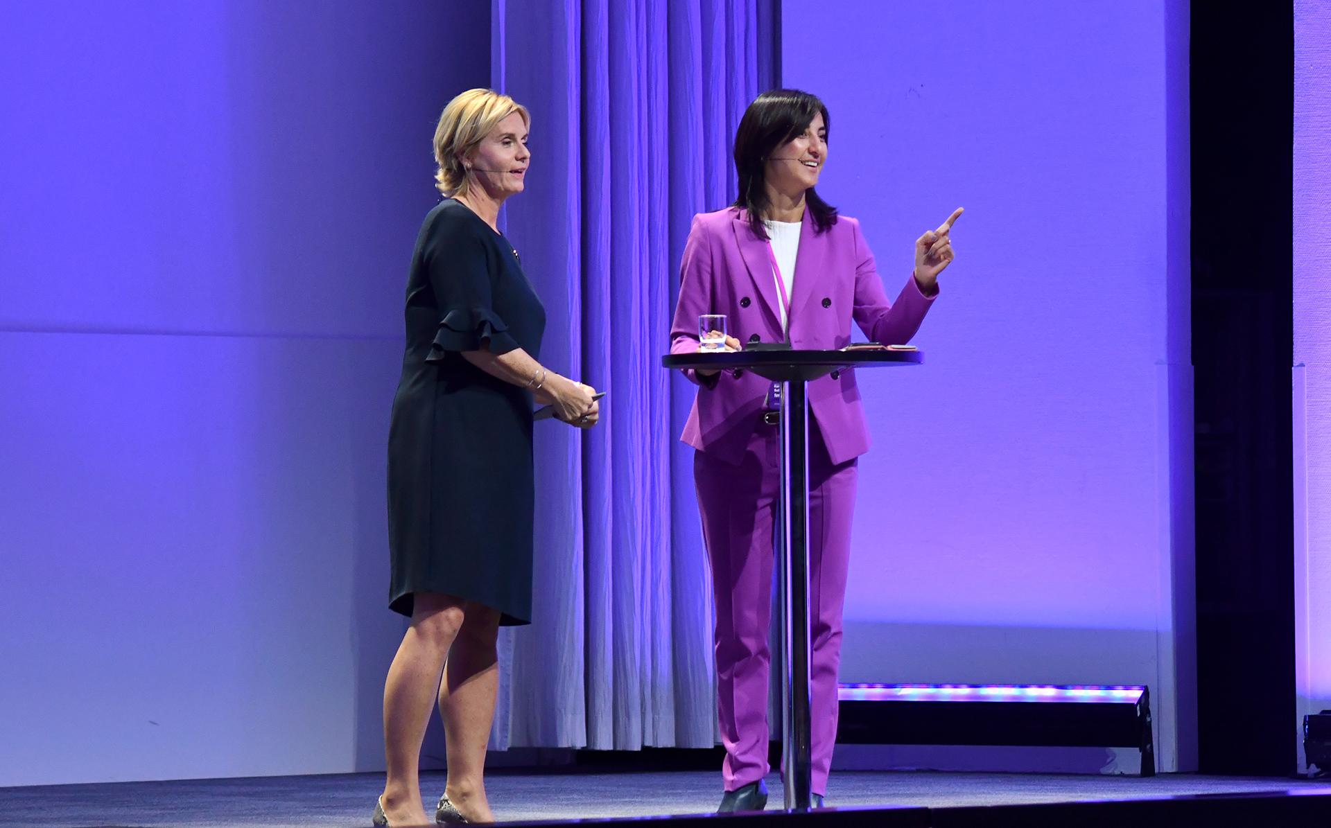 Åsa Bergman and Kamilla Sultanova