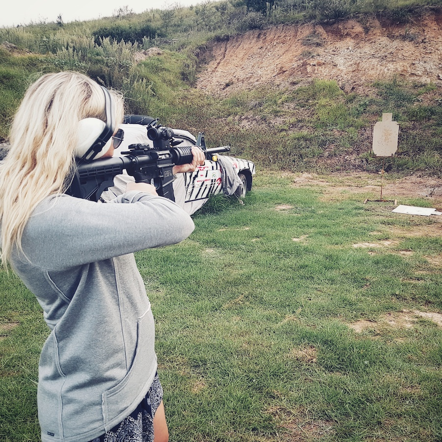 My wife loves shooting an AR-15.