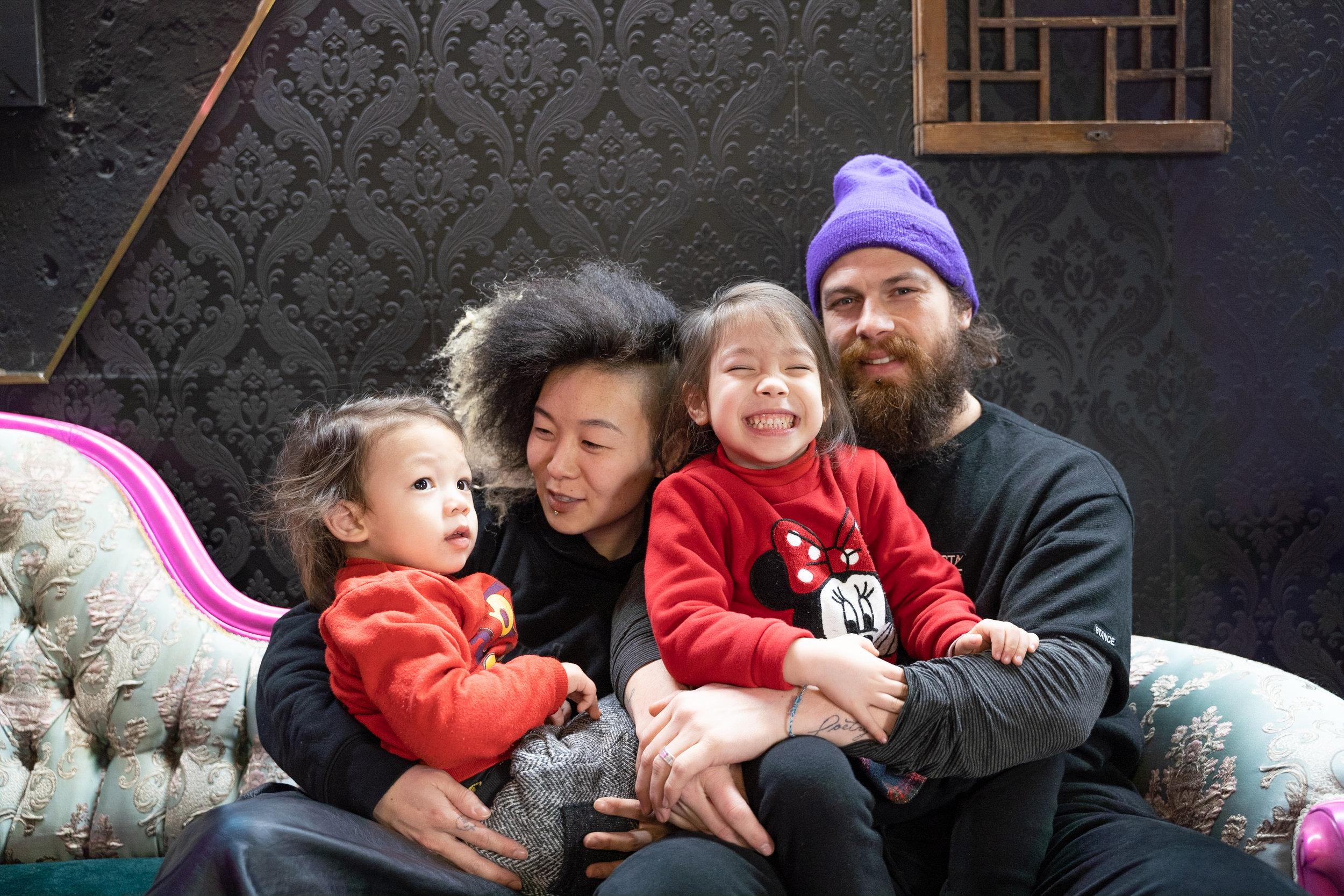 SUNYA + LAUREN - AFRICAN-KOREAN + AMERICAN PARENTS