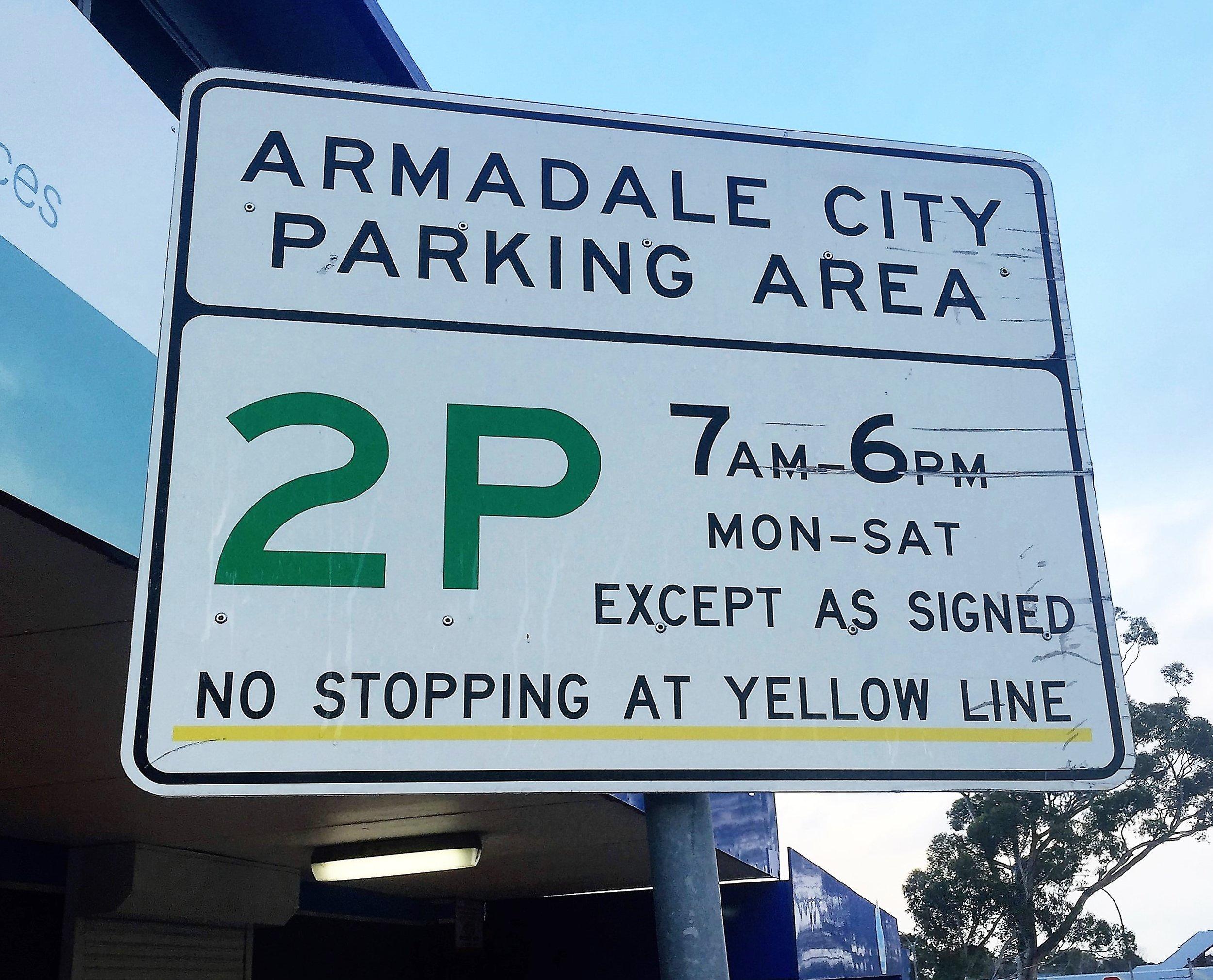 Street Sign Armadale.JPG