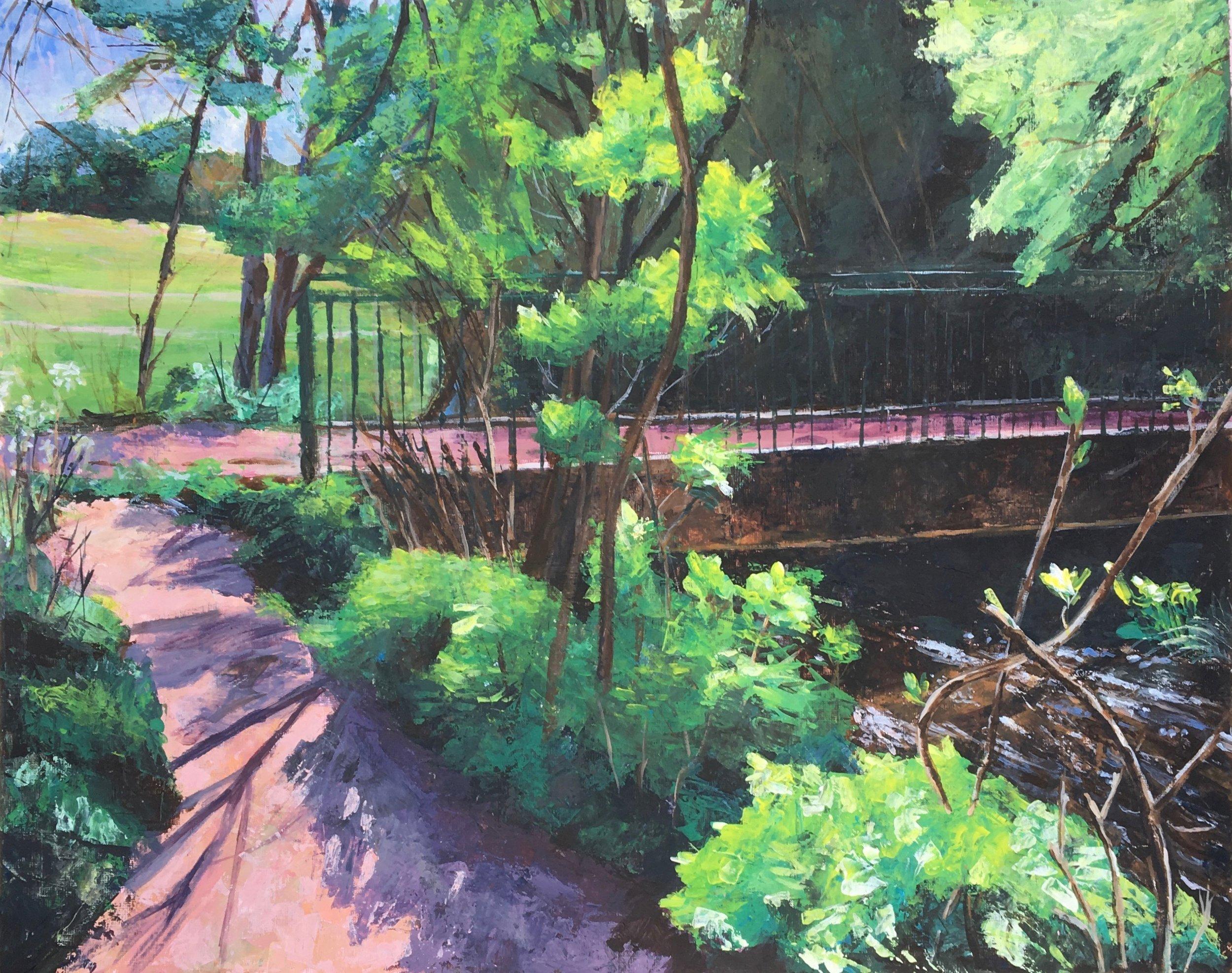A Footbridge over Dollis Brook - 2