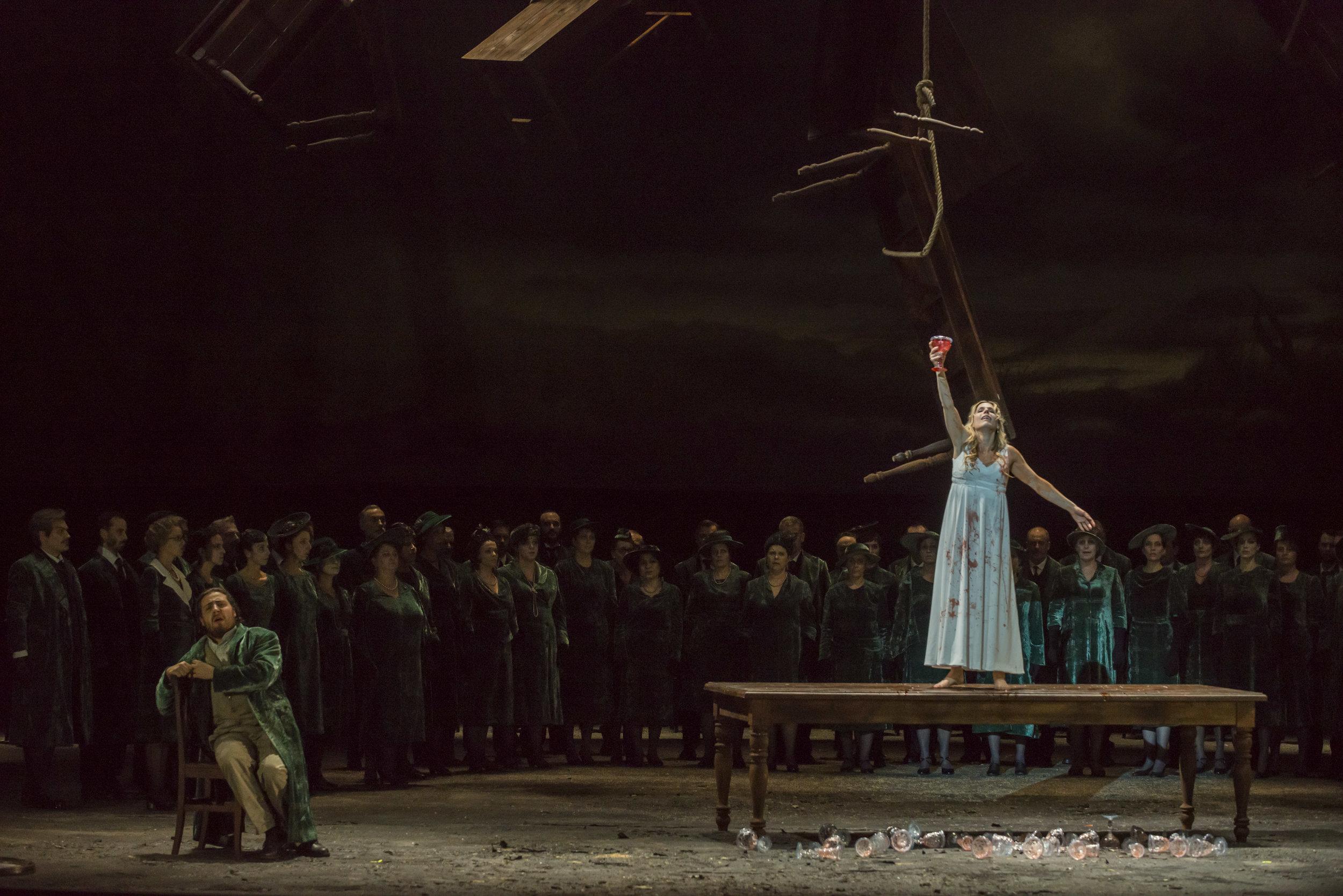 Lucia di Lamermoor, L'opera de Bordeaux