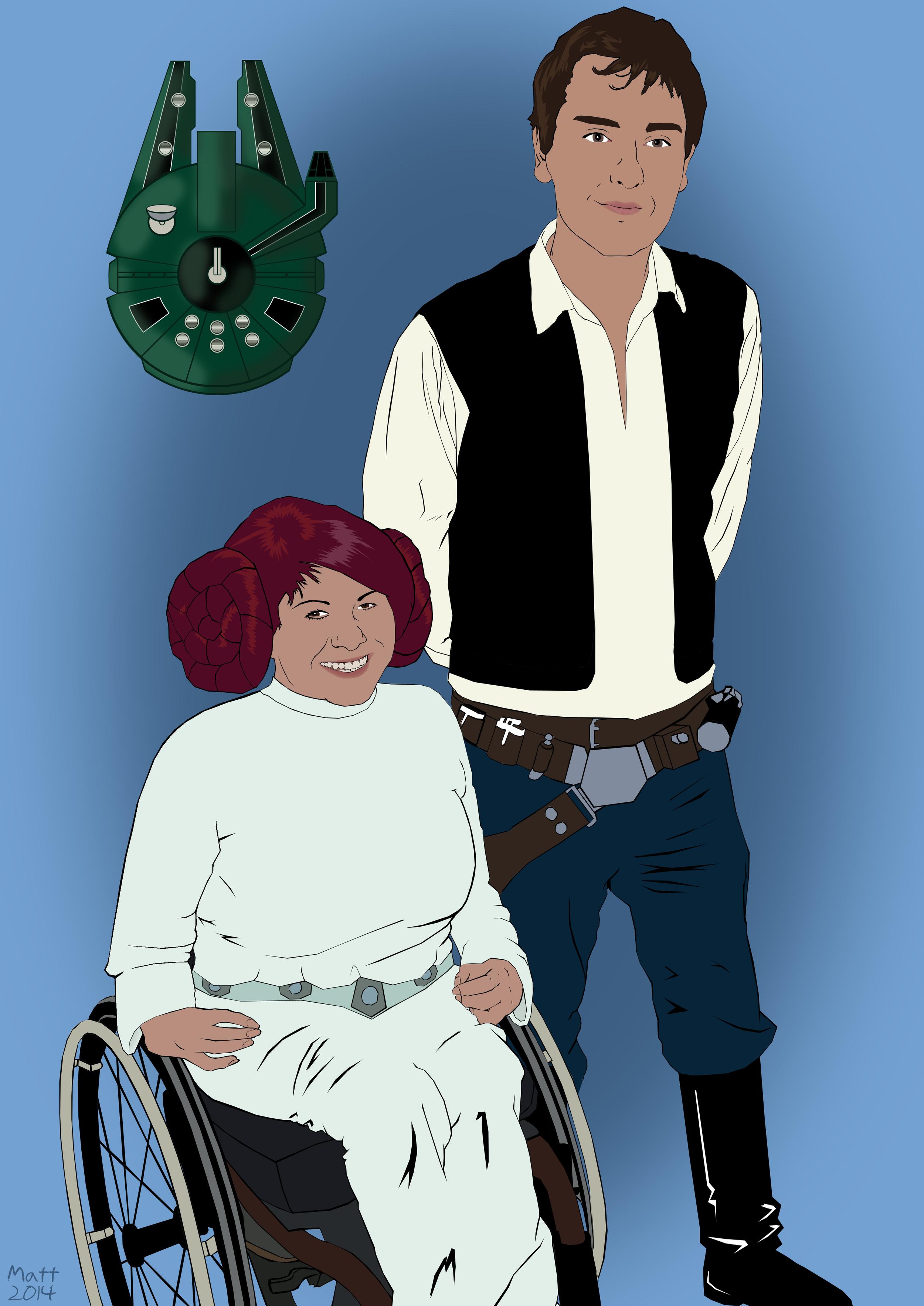 Princess Ellie Organa & Tim Solo