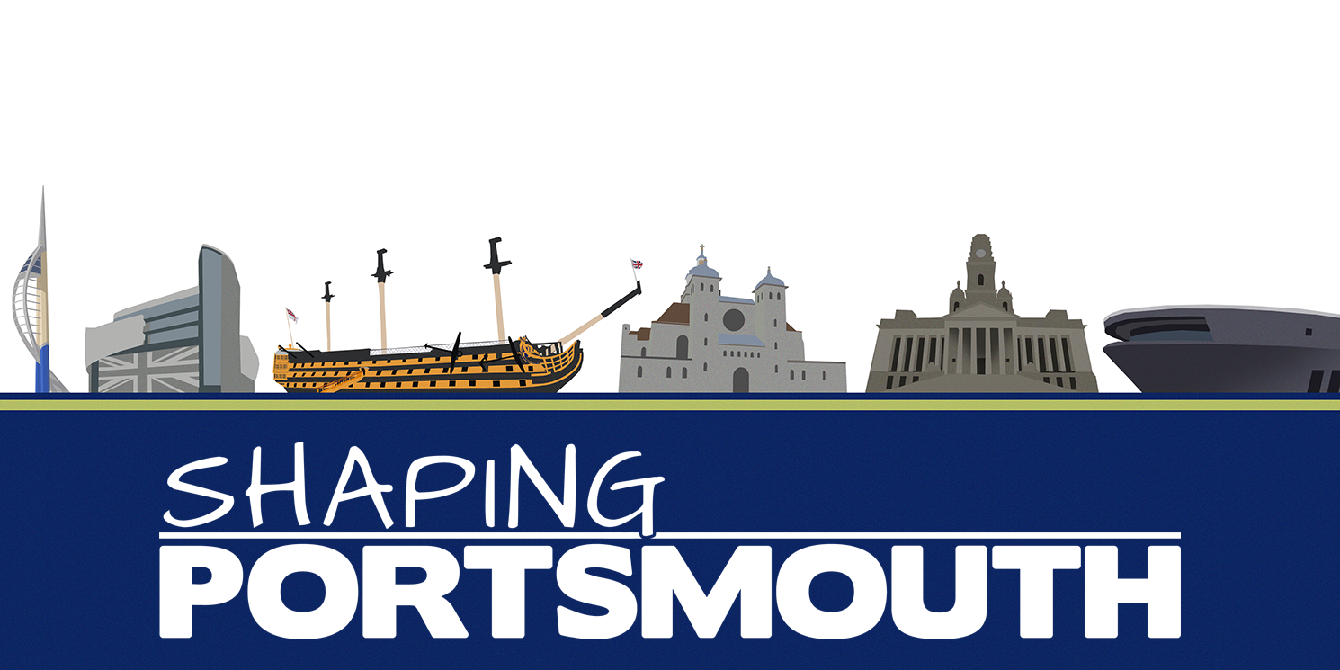 Shaping Portsmouth Banner 2018