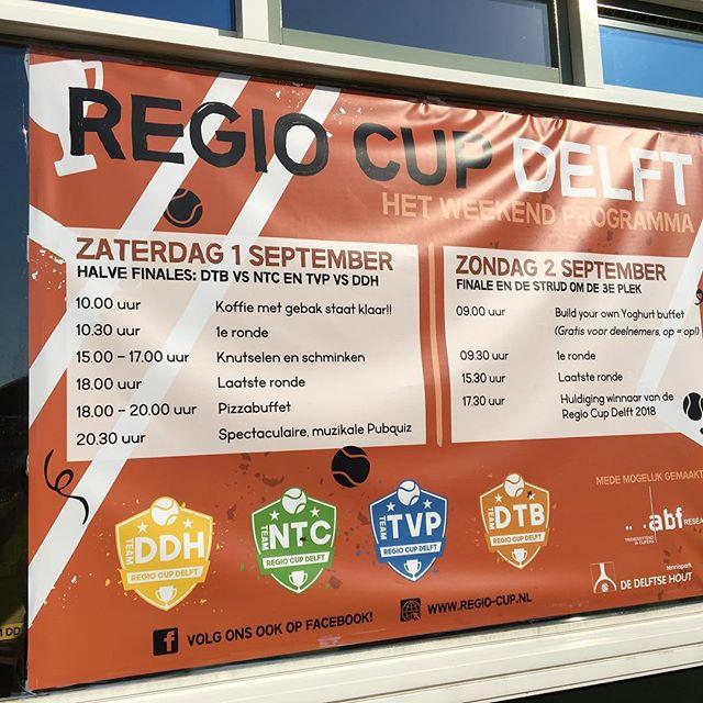 We zijn begonnen! Kom team DDH aanmoedigen in het geel 💛💛💛 #regiocupdelft #gemeentedelft