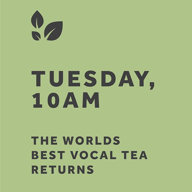 HE IS RISEN, on Tuesday.... The world's best vocal tea returns, shop goes live at 10am get those greedy throats ready... #worldsbestvocaltea #sorethroat #singer #vocals