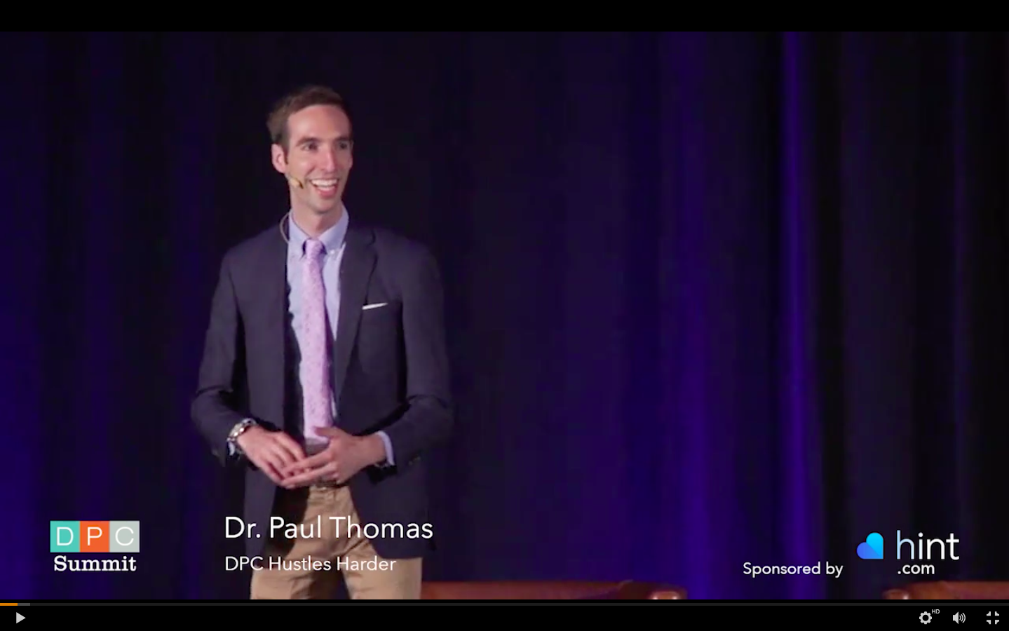 Here I am speaking at the American Academy of Family Physicians DPC Summit in 2018