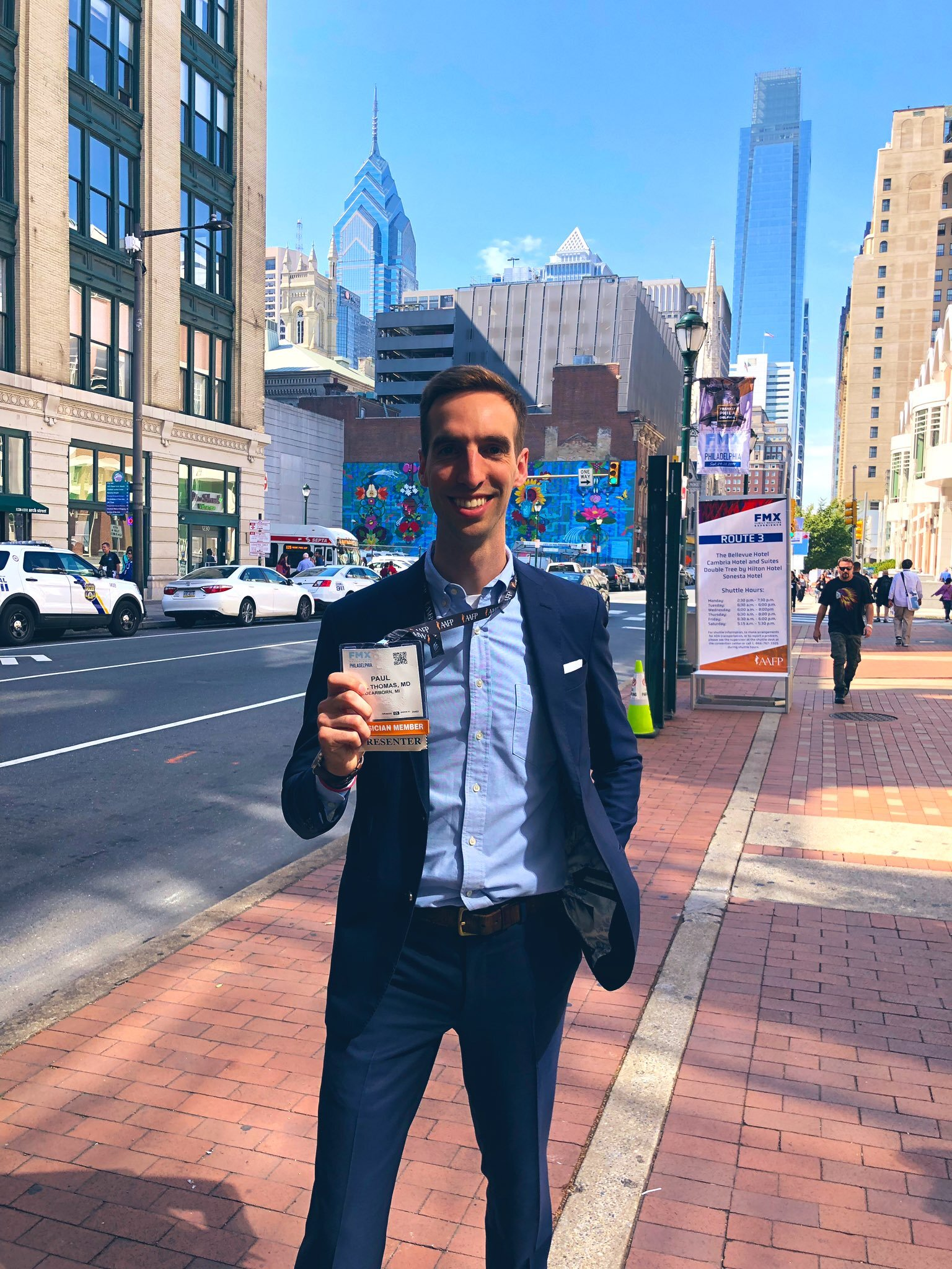 Paul Thomas MD at the AAFP FMX 2019 in Philadelphia