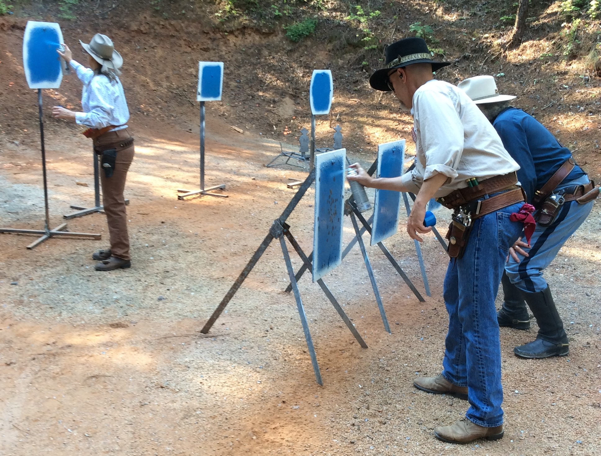 Painting targets for the next posse