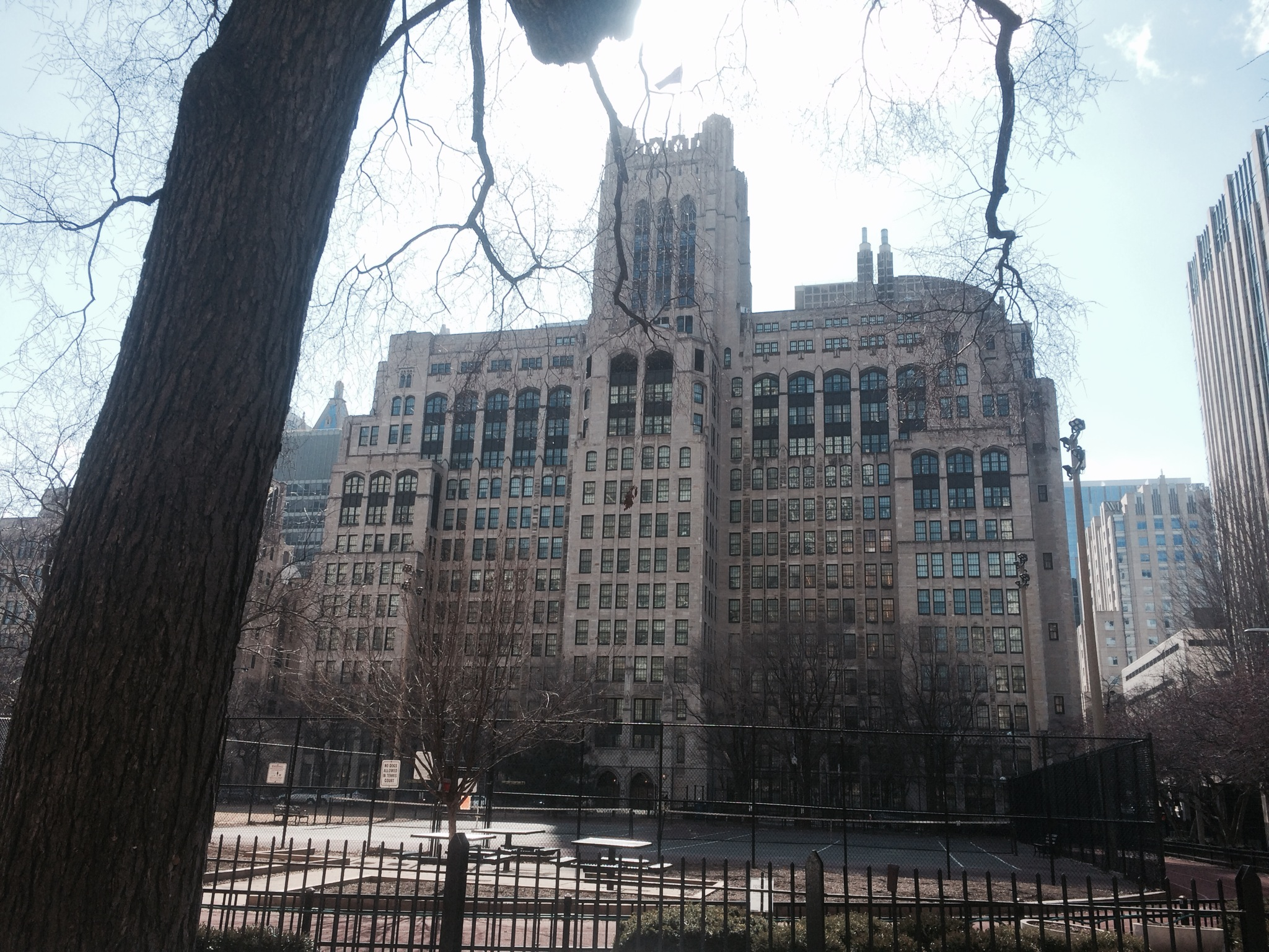 303 East Chicago Ave. - NorthWestern School of Medicine Ward Memorial Building today.