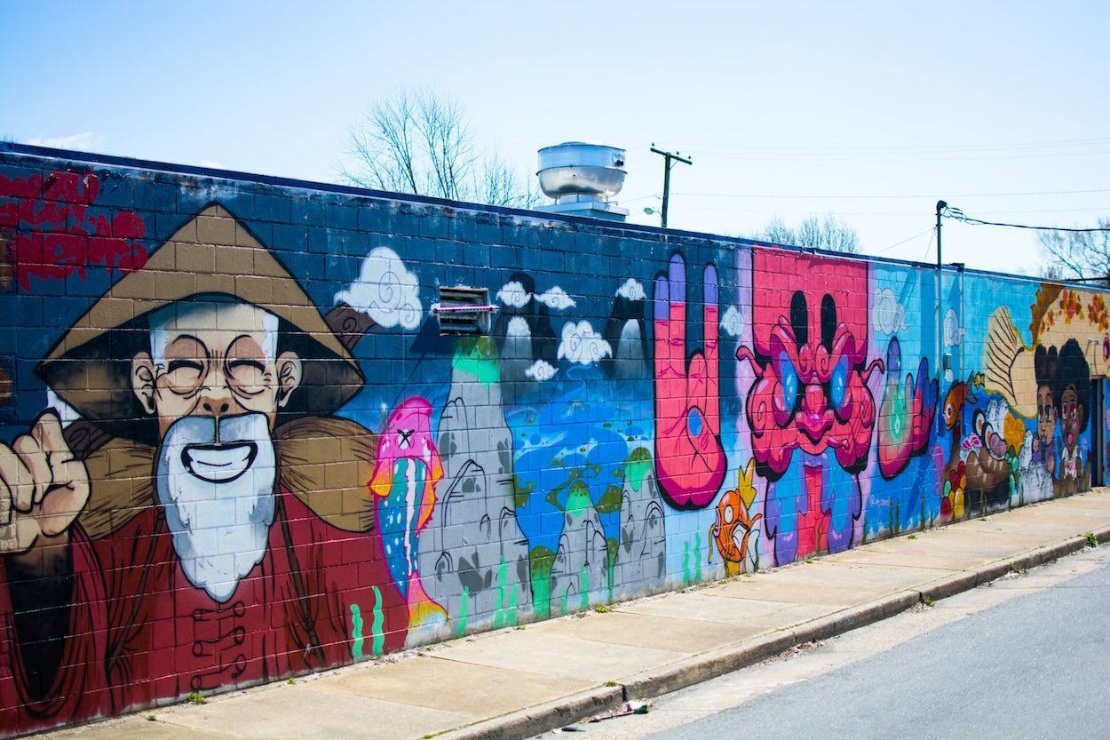 Richmond Murals Street Art