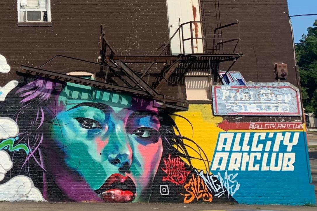 All City Art Club - Black Belt Jones x Lonnie Garner