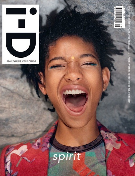 WILLOW SMITH WEARS JEAN PAUL GAULTIER ARCHIVE HOL    for i-D Magazine 'Coming of Age' issue.    photography Tyrone Lebon