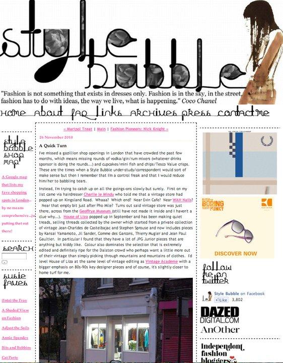 STYLE BUBBLE    UK