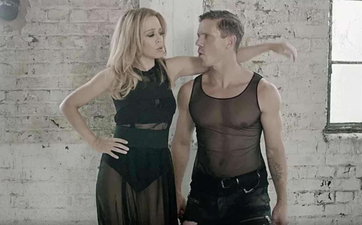 "SCISSOR SISTERS' JAKE SHEARS   WEARS JEAN PAUL GAULTIER ARCHIVE HOL    WATCH ""The Other Boys"" video    here"
