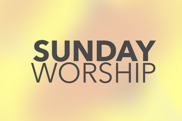 Worship with us - Experience the joy of God this Sunday.