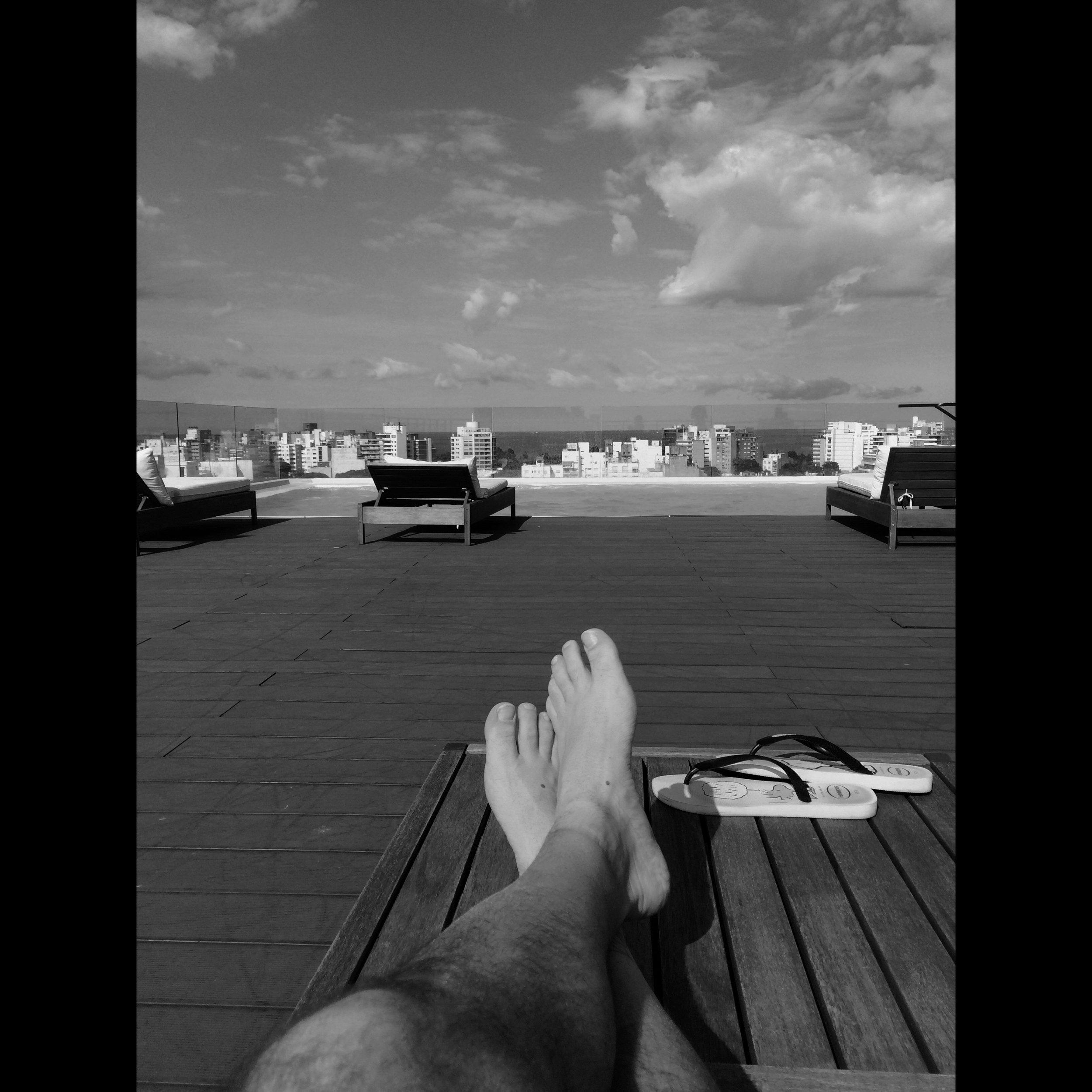 Hotel rooftop Pool - Montevideo, Uruguay