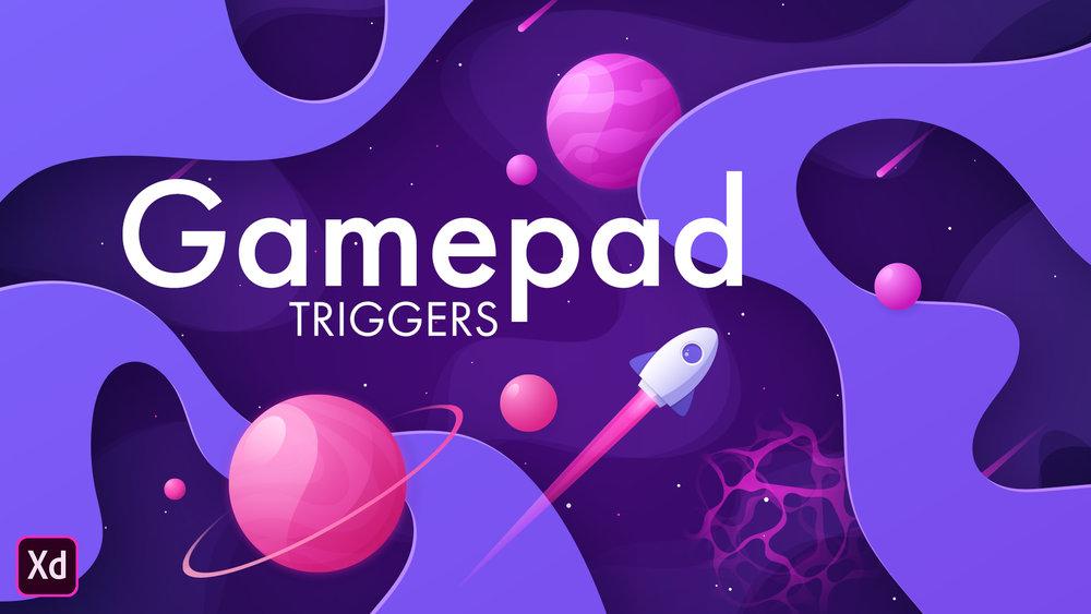 Using Gamepad Triggers in Adobe XD